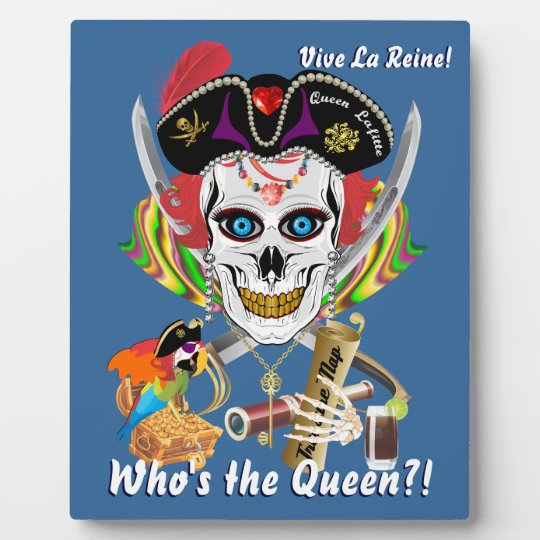 Pirate Queen Lafitte All Styles View Hints Plaque