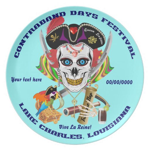 Pirate Queen Lafitte All Styles View Hints Dinner Plates
