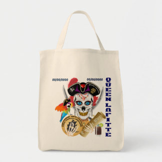 Pirate Queen Lafitte Important Read About Design Tote Bag