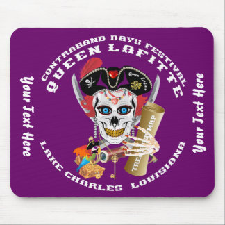 Pirate Queen Lafitte Important View About Design Mouse Pad