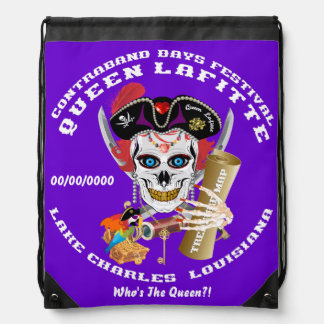 Pirate Queen Lafitte Important View About Design Drawstring Bag