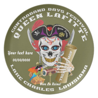 Pirate Queen Lafitte Important View About Design Plate