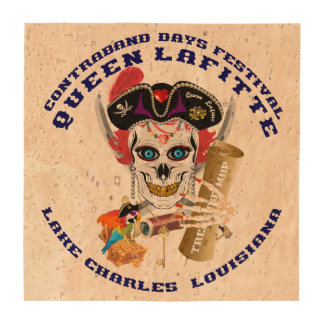 Pirate Queen Lafitte Important View About Design Drink Coaster