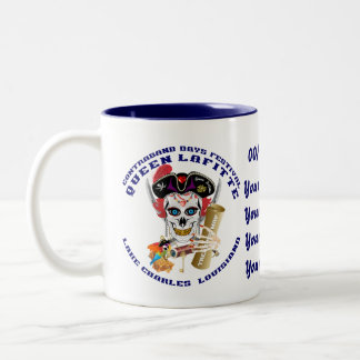 Pirate Queen Lafitte Important View About Design Two-Tone Coffee Mug