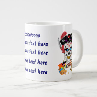 Pirate Queen Lafitte Jumbo View About Design Large Coffee Mug