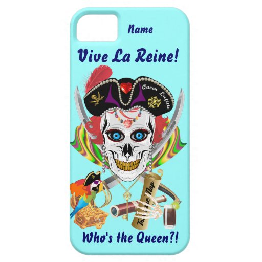 Pirate Queen Lafitte Women All Styles View Hints iPhone SE/5/5s Case