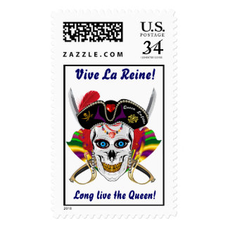 Pirate Queen Lafitte Women All Styles View Hints Postage Stamp