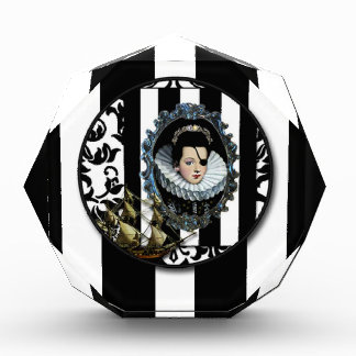 Pirate Queen Sets Sail altered art original Awards