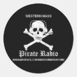 Pirate Radio Sticker