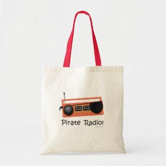 Pirate Radio Tote Bag