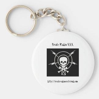 Pirate Radio XXX Keychain