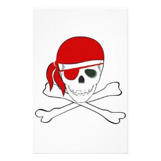 Pirate + Red Bandana Stationery