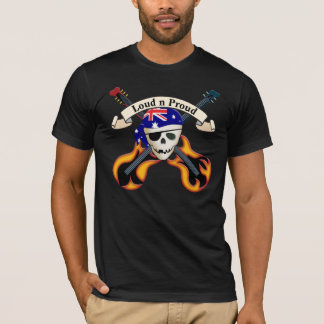 Pirate Rock (Aussie) T-Shirt