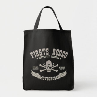 Pirate Rodeo Canvas Bags
