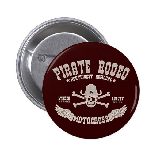 Pirate Rodeo Button