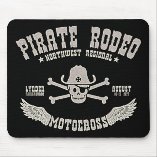Pirate Rodeo Mouse Pad