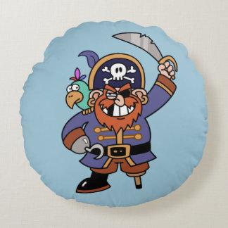 Pirate Round Pillow