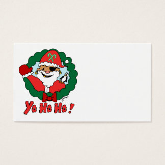 Pirate Santa Business Card