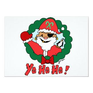 Pirate Santa Card