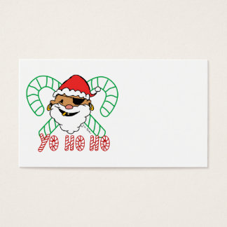 Pirate Santa Emblem Business Card