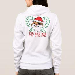 Pirate Santa Emblem Hoodie