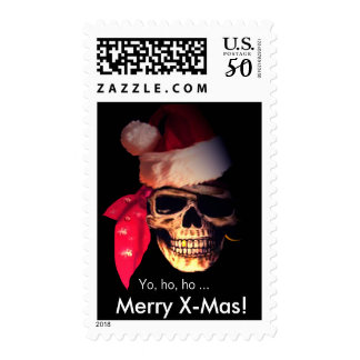 Pirate Santa Postage