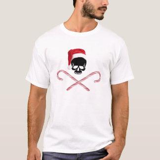 Pirate Santa Skull T-shirt