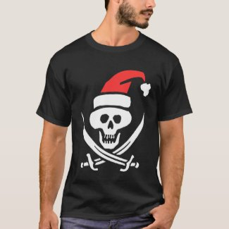 Pirate Santa T-Shirt