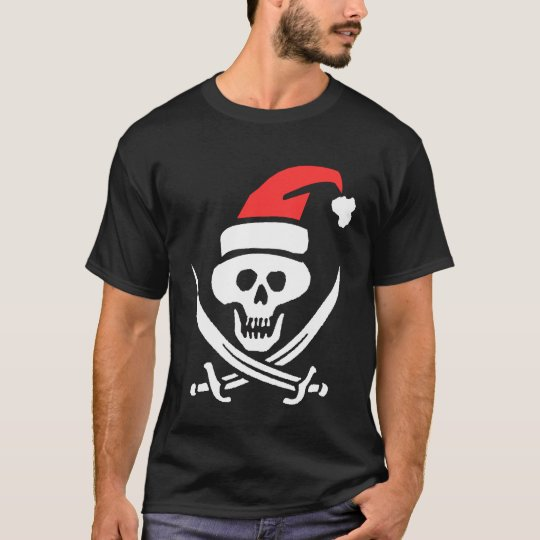 Pirate Santa T-Shirt