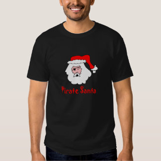 pirate santa t shirt