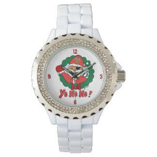 Pirate Santa Watches