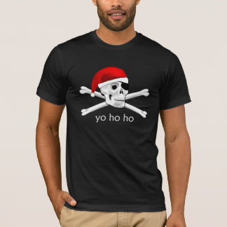 Pirate Santa Yo Ho Ho Mens Shirt