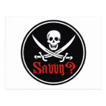 Pirate Savvy Postcard