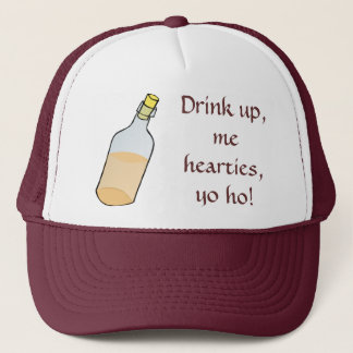 Pirate Says Drink Up! Trucker Hat