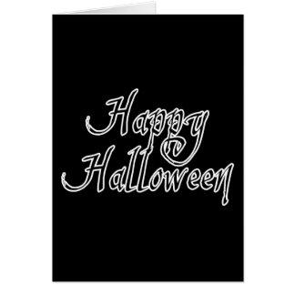 Pirate Scrawl Happy Halloween Card