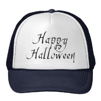 Pirate Scrawl Happy Halloween Trucker Hat
