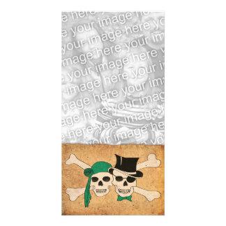 pirate scroll card
