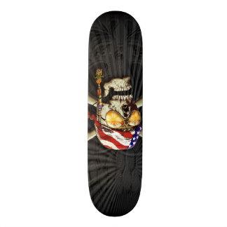 Pirate Scull Art Skateboard