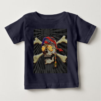 Pirate Scull Baby T-Shirt