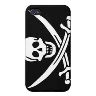 Pirate Scull - iPhone 4 Case