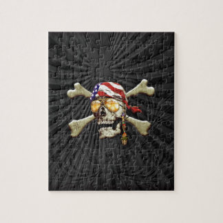 Pirate Scull Jigsaw Puzzle
