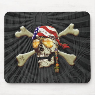 Pirate Scull Mouse Pad