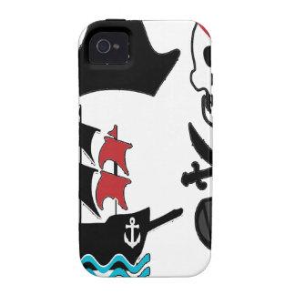 pirate sea boat skull treasure iPhone 4/4S cases