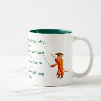 Pirate Sea Shanty Two-Tone Coffee Mug