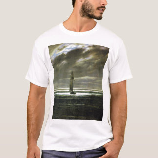 Pirate Seascape by Moonlight T-Shirt