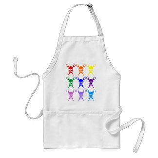 Pirate shears rainbow transparent 2009 apron