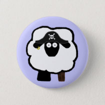 Pirate Sheep Button