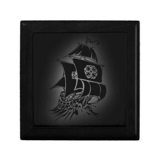 Pirate Ship 1 Keepsake Box