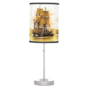 Pirate Ship 2 Table Lamp