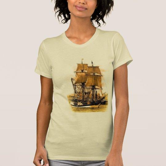 Pirate Ship 2  Womens Large T shirt